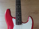 1997 FENDER JAPAN JAZZ BASS Japan Candy Red!